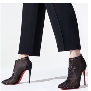 Sexy ankle booties Christian Louboutin ❣️